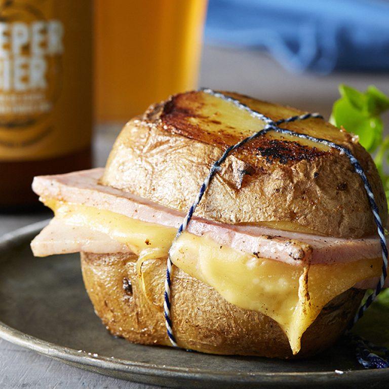 Aardappel tosti _ kookboer